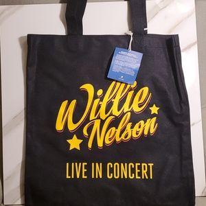 Willie Nelson Concert Totebag-New